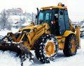 İscehisar'da kar yağışı hayatı felç etti