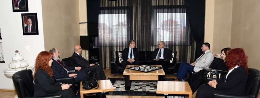 CHP il yönetiminden ziyaret