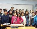 Şemsettin Ortaokulu'nda Madalyalı karne töreni