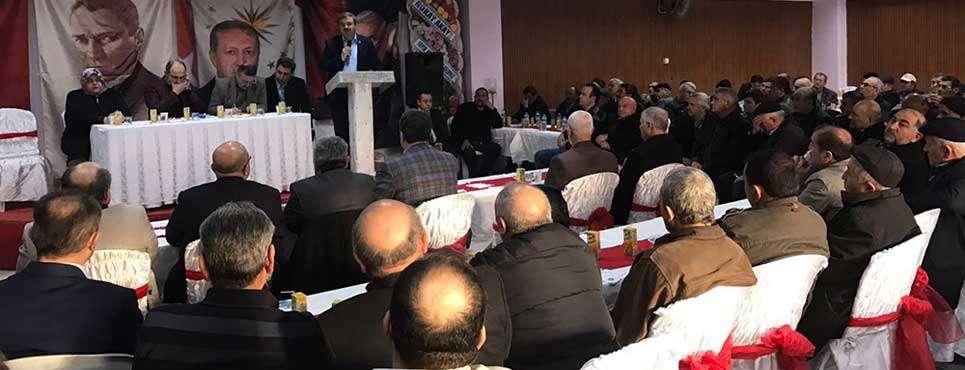 Şuhut ve Çay'da İlçe Danışma Meclis toplantıları yapıldı