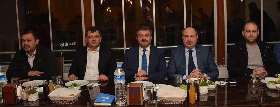 İl Yönetim Kurulu toplantısı Emirdağ'da yapıldı