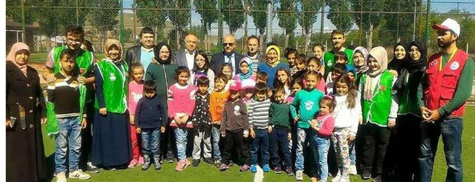 Başkan Çoban yetim çocuklarla piknikte