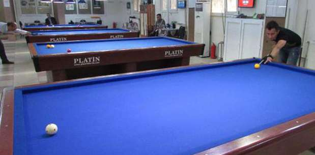 Sandıklı'da bilardo turnuvası