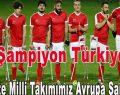 Avrupa Şampiyonu Ampute Milli Takımımızı Kutlarız