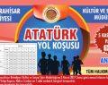 Atatürk Yol Koşusu Pazar Günü Yapılacak