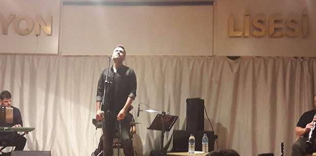 Necdet Kaya Afyon'da konser verdi
