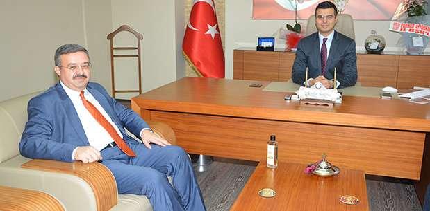 "AK Parti İl Başkanı Yurdunuseven'den ""hayırlı olsun"" ziyareti"