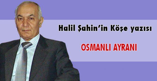 OSMANLI AYRANI