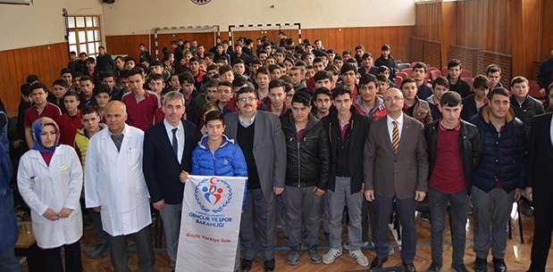 Afyonkarahisar Gençlik Merkezi Meslek Liseli Gençlerle Buluştu