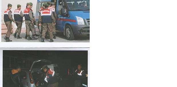 Afyonkarahisar'da jandarmadan üç ilçede operasyon