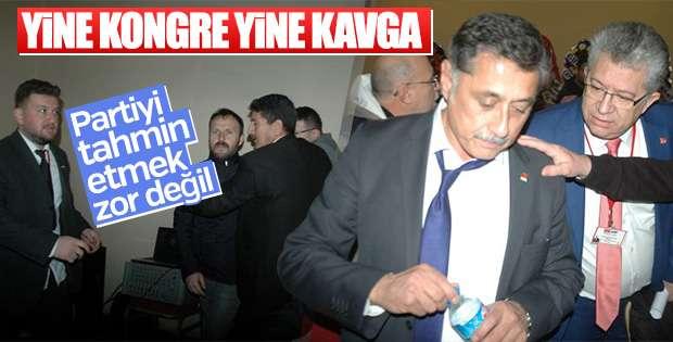 CHP'deki kavga ulusal basında
