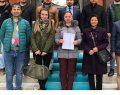 İYİ Parti Merkez İlçe Başkanı Efe mazbatasını aldı