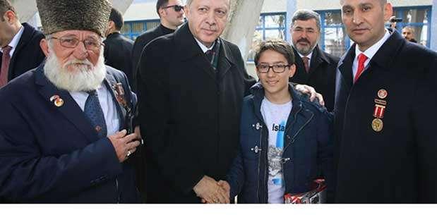 Erdoğan'dan Şehit Aileleri ve Gazilere özel ilgi