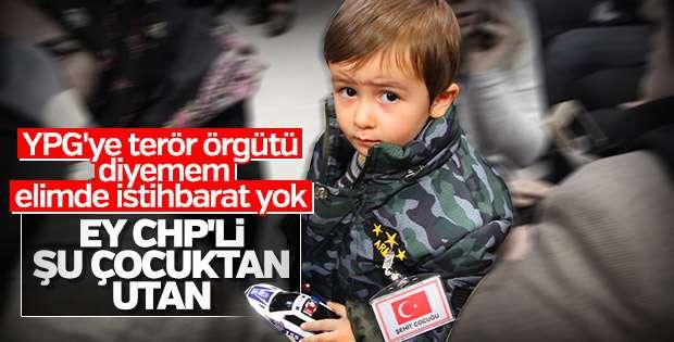Ey CHP'li şu çocuktan utan!