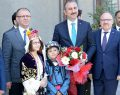 Adalet Bakanı Abdülhamit Gül, Vali Mustafa Tutulmaz'a Ziyarette Bulundu