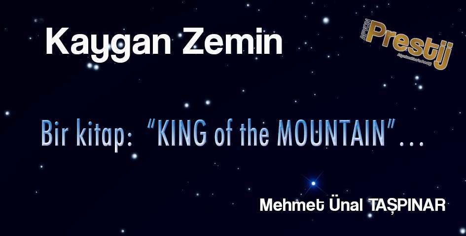 "Bir kitap: ""KING of the MOUNTAIN""…"