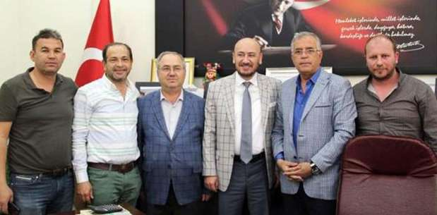 Aydın TSO'dan Dinar'a ziyaret