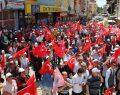 Dinar'da kardeşlik yürüyüşü