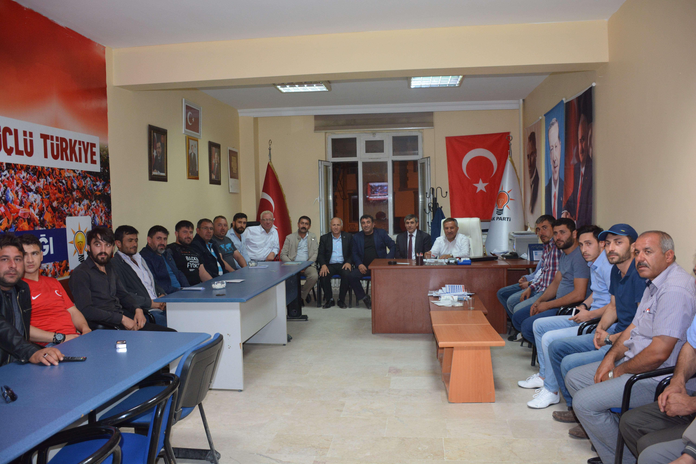 İSCEHİSAR MHP'DEN AK PARTİ'YE NEZAKET ZİYARETİ