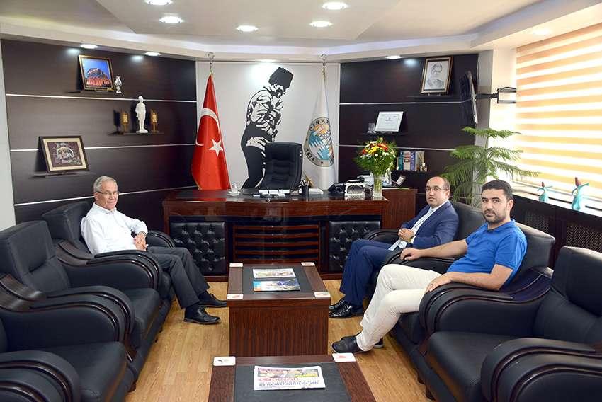 Başkan Çöl'den Başkan Acar'a Ziyaret
