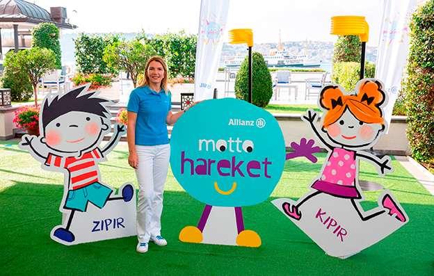 Allianz Türkiye ile Çocukların Mottosu Hareket