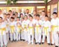 Karatecilerden başkana teşekkür ziyareti