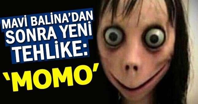 Gençler için Yeni Sanal tehlike 'Momo'