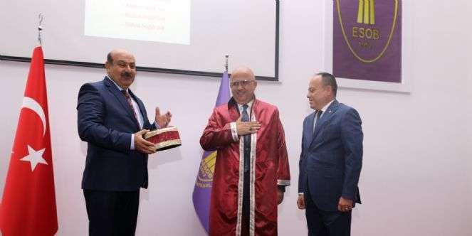 ESNAF DOSTU BAŞKAN'A AHİLİK UNVANI VERİLDİ