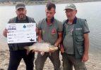 Sportif Sazan Balığı Yakalama Yarışması tamamlandı