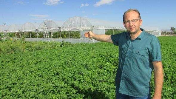 Doğal sebze meyve yemek için köyüne yerleşti, şimdi üretimini yapıyor