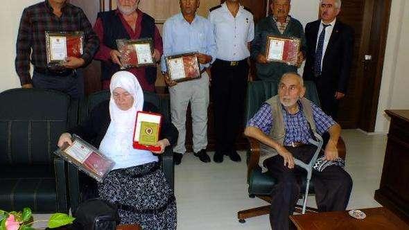 TSKGV'den bağışçılara madalya ve berat