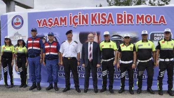 Afyonkarahisar'da sürücülere trafik eğitimi