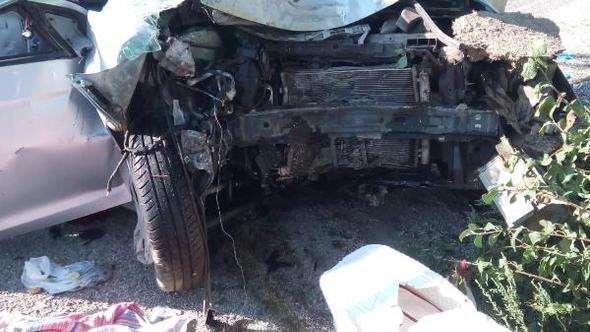 Dinar'da kaza: Aynı aileden 3 kişi öldü, 1 yaralı