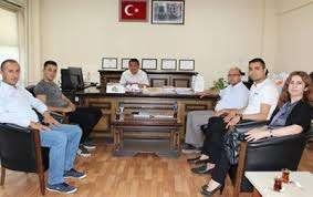Ekmek fiyat tespit komisyonu ESOB Genel Sekreteri Oğuzhan Caymaz başkanlığında toplandı