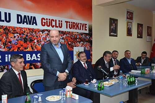 AK PARTİ HEYETİ İSCEHİSAR'DA