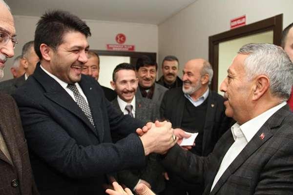AKPARTİ'DEN MHP'YE ZİYARET
