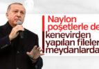 Erdoğan: Naylon poşetlere savaş ilan ettik