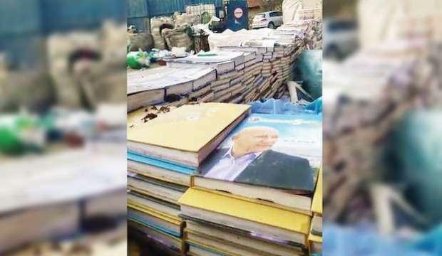 Milletin paralarıyla basılan kitaplar çöplere atılmış