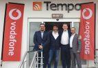 Vodafone Türkiye CEO'su Colman Deegan, Afyonkarahisar Tempo ofisini ziyaret etti
