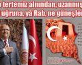 """""""İSTİKLAL MARŞI HÜR OLMANIN BİR İFADESİDİR"""""""