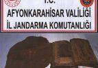 Afyon'da 1300 yıllık Tevrat ele geçirildi