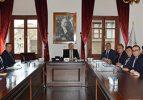 Kaymakamlar Toplantısı Vali Mustafa Tutulmaz'ın Başkanlığında yapıldı