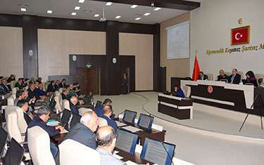 İl Genel Meclisi Nisan ayı 4. birleşim toplantısı yapıldı