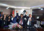 Dinar'da Başkan Nihat Sarı görevine başladı