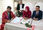 Belediye Başkanı Nihat Sarı ilk nikahını kıydı