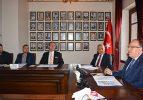 Ömer-Gecek ve Gazlıgöl Termal turizm merkezleri altyapı hizmet birliği toplantısı yapıldı