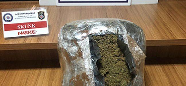 5 kilo SKUNK maddesi ele geçirildi