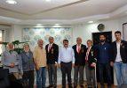 Gaziler Derneğinden Başkan Sarı'ya Teşekkür Ziyareti