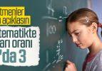 LGS'de matematik başarı puanı 10'da 3