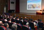 """""""15 TEMMUZ RUHUNUN SOSYOLOJİSİ"""" KONULU KONFERANS VERİLDİ"""